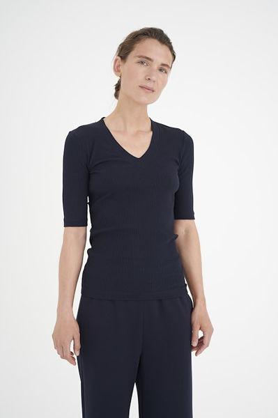 Dagna T-Shirt V Hals Marine