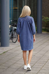 Jeanie Dress Jeansblå