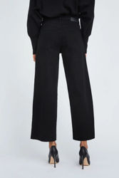 Abby Black Ankle Jeans Sort