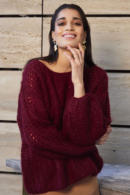 Alma Sweater Barolo