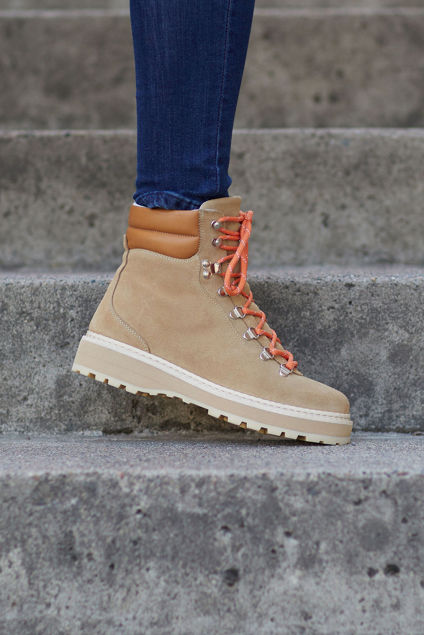 Hiking Suede Nude