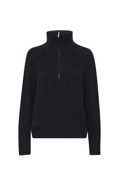Alpha R Zipper pullover Sort