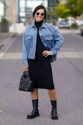 Raine Jeansblå