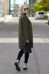 New Sasja Wool Coat Tarmac