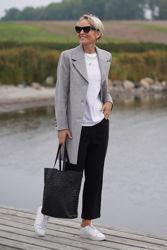 New Sasja Wool Coat Grå