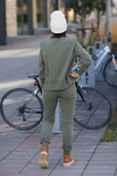 Bibbi Pants Mørkegrønn