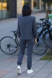 Corine Sweater Mørk gråmelert