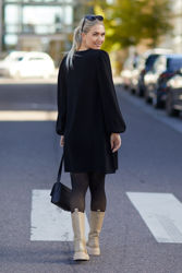 Fri Merino Dress Sort