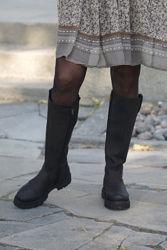 Skin Boots Sort