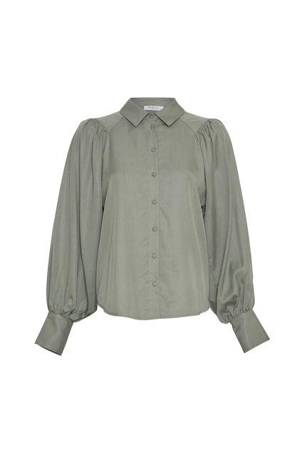 Alivia Stephie LS Shirt Agave Green