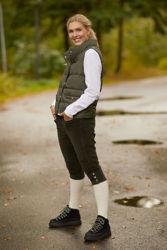 Amy Down Vest Khaki