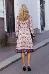 Carina Dress Ivory