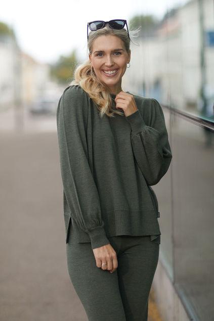 Sonja Merino Sweater Grønn