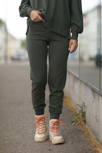 Milla Merino Pants Grønn
