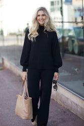Minken Merino Sweater Sort