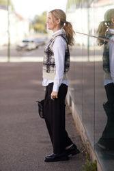 Louisa Knit Vest Sort