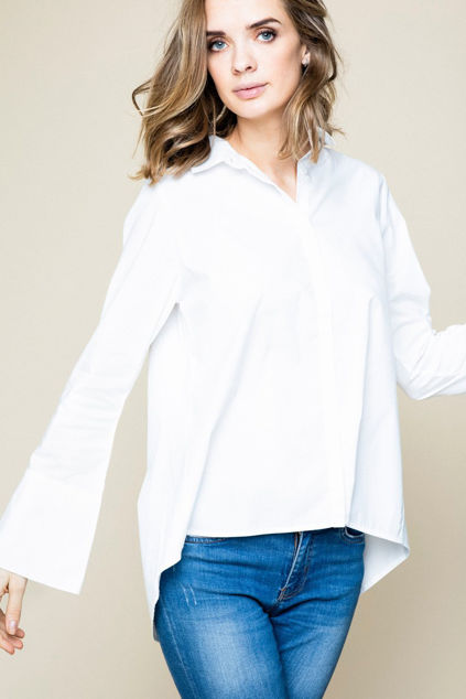 Juni Shirt Hvit