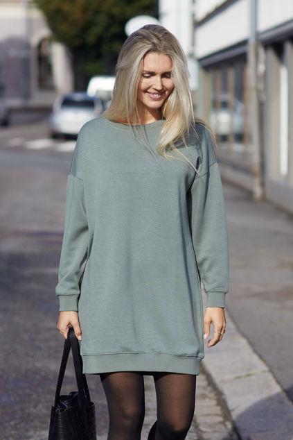 Ima Sweat Dress Agave Green