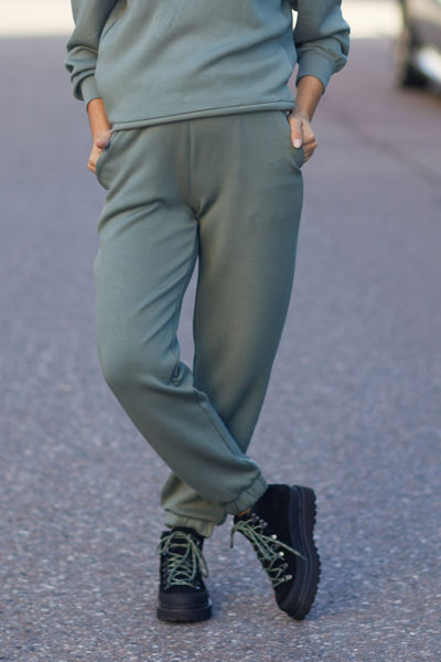 Ima Sweat Pants Agave Green