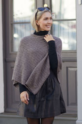 Carrie Poncho Brun