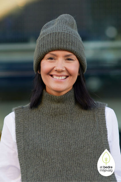 Linna-Mia Knit Beanie Kalamata melange