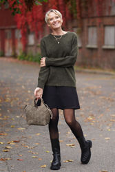 Claudia Sweater Army