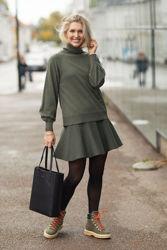 Minken Merino Sweater Grønn