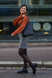 Tuva Skirt Yarn Dyed Check