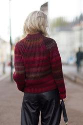 Effie Pullover Bordeaux