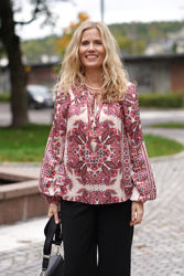 Daria Silk Blouse Vinrød