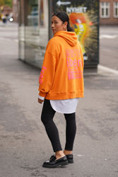 Iben Hoodie Oransje