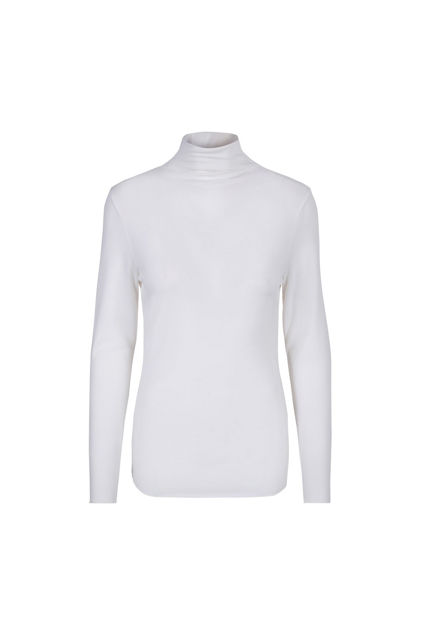 Tinki Plain Wool Long Sleeve Hvit