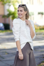 Try Alpaca Sweater Off-white