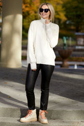 Sandra Alpaca Sweater Off-white