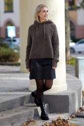 Ricky Mohair Sweater Brun