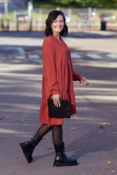 Mivia LS Short Dress Chili Oil