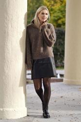 Li Mohair Sweater Brun