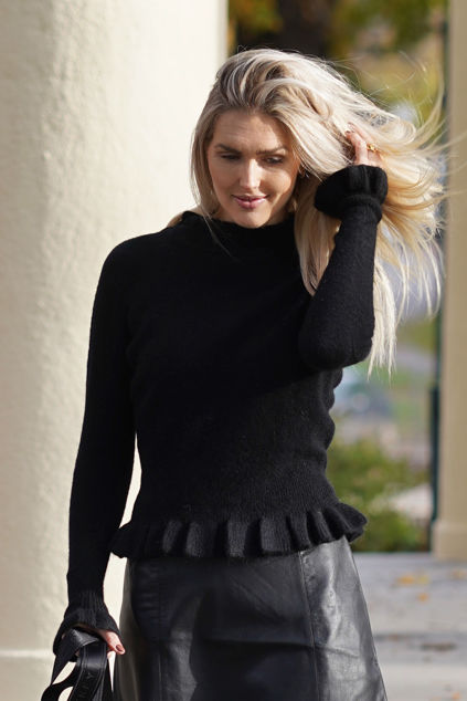 Valeria Alpaca Sweater Sort