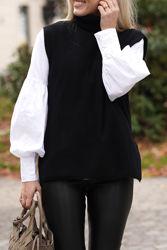 Irja Wool Vest Sort