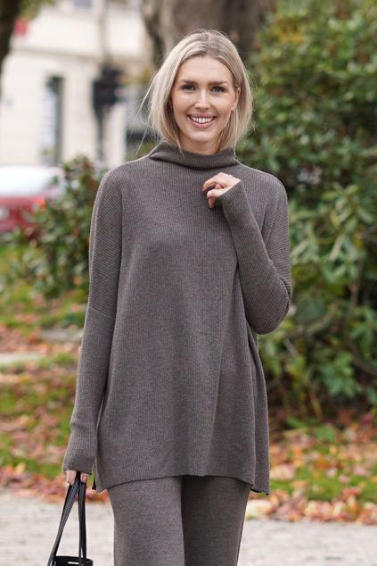 Krisy Merino Sweater Brun