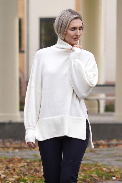Luni Alpaca Sweater Off-white