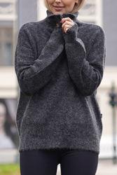 Sandra Alpaca Sweater Grå