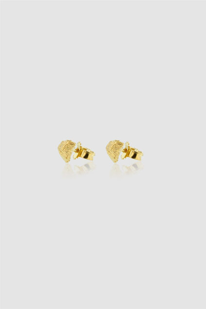 Grit Small Earstuds Gull