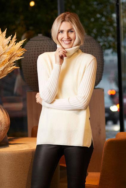 Irja Wool Vest Cream