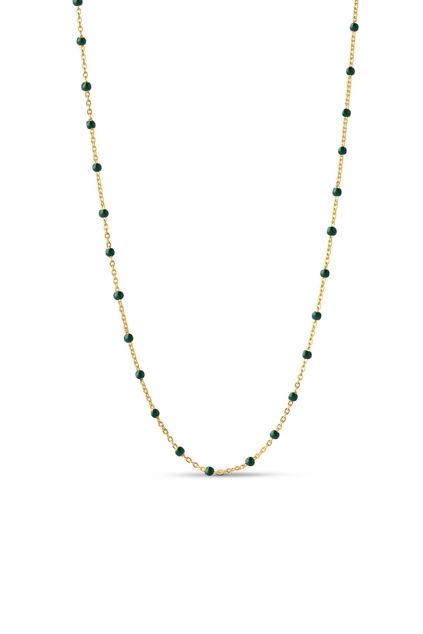 Lola Necklace Petrol Green