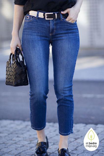 Piper Short Jeansblå